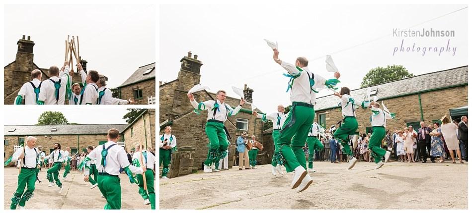multi photo image of morris dancing