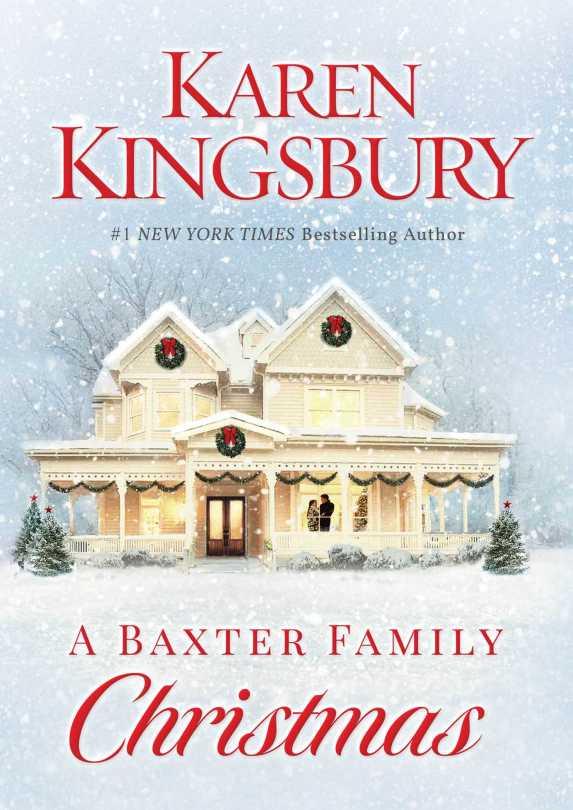a baxter family christmas, karen kingsbury, book review, christmas book