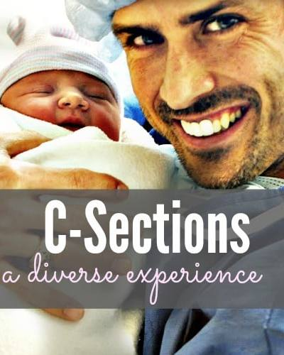 C-Sections: A Diverse Experience