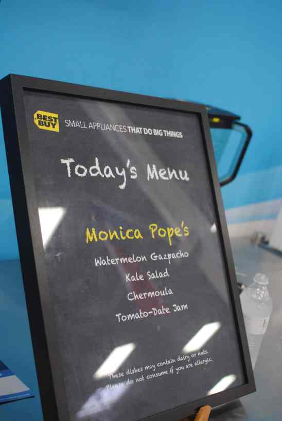Best Buy Small Appliances features Chef Monica Pope