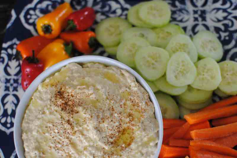 Make your own hummus! Easy, simple, delicious.