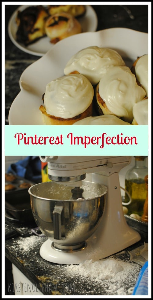Learning to turn off the comparison monster so that Pinterest works FOR you, rather than intimidates you with its perfection. Behind every perfect photo is a messy kitchen!