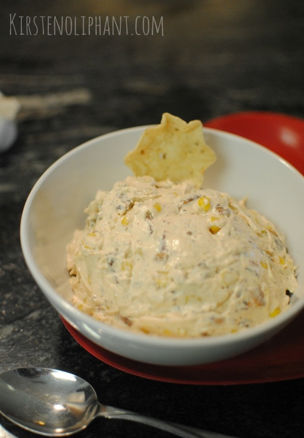 The crunch of sweet corn and bacon with the spice of jalapeno make this dip a crowd-pleaser!