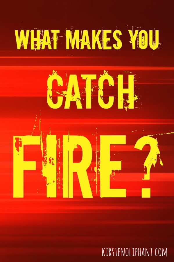 What stirs your heart to hope and makes you catch fire?