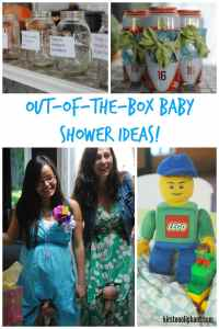 How to throw a totally unique baby shower-- without blowing your budget!!