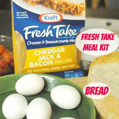 A Kraft Fresh Take on Overnight Easter Breakfast Casserole