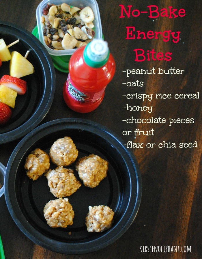 Try these no-bake energy bites! #sponsored