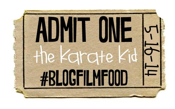 Second edition of #blogfilmfood with food inspired by the Karate Kid!