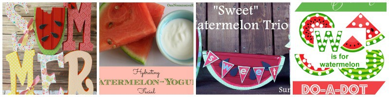 Some fun watermelon crafts and ideas.
