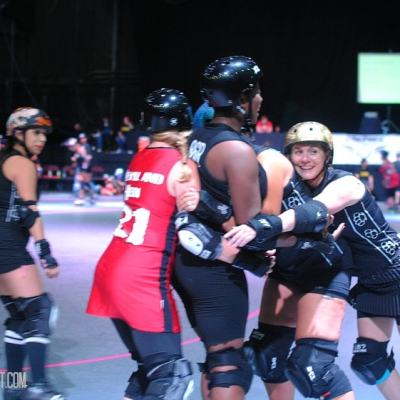 Behind the Scenes at Roller Derby