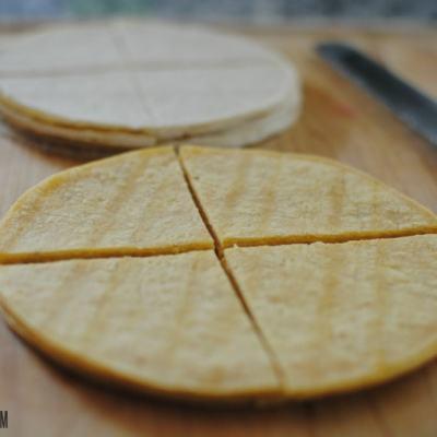 Stupid Simple Homemade Tortilla Chips