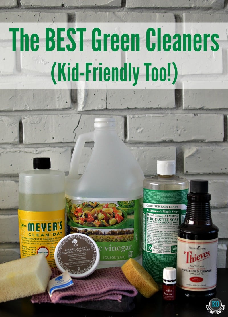 The best green cleaning products that are kid-friendly. Have a clean home without worries of danger to your kids.