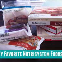My Favorite Nutrisystem Foods
