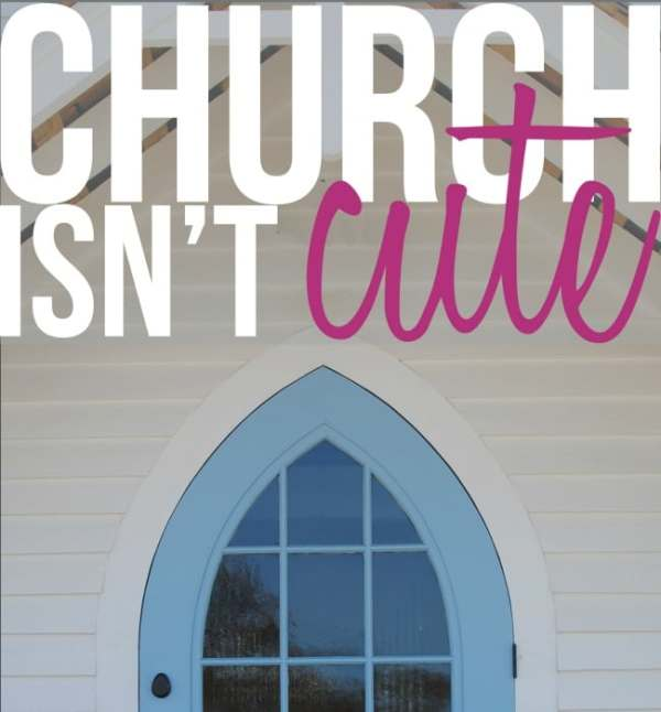 church isn't cute noise trade
