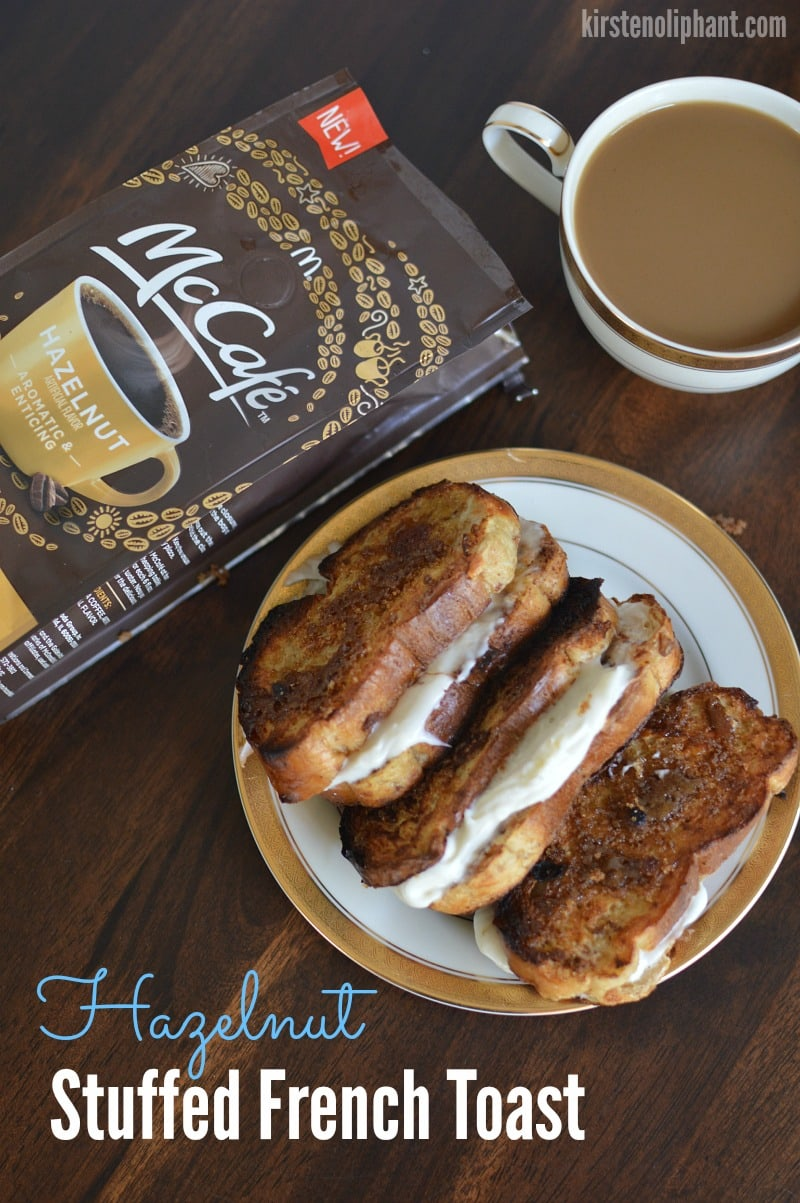 McCafe Hazelnut Stuffed French Toast Coffee