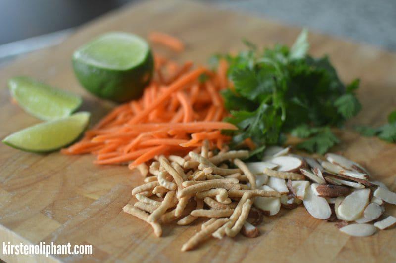 chicken lettuce wrap ingredients