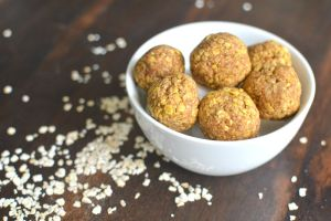 Pumpkin Spice Protein Bites are a perfect snack for fall!