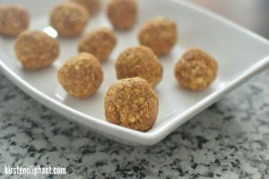 Try these no-bake pumpkin bites for a guilt-free taste of pumpkin spice!