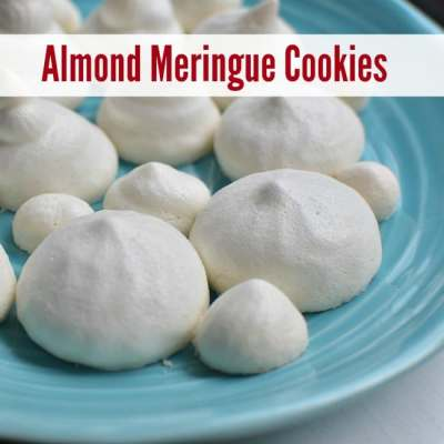 Simple Almond Meringue Cookies