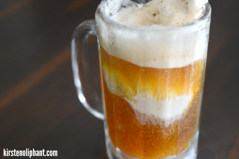 Try this Pumpkin Beer Ice Cream Float for an adult treat perfect for the autumn season.