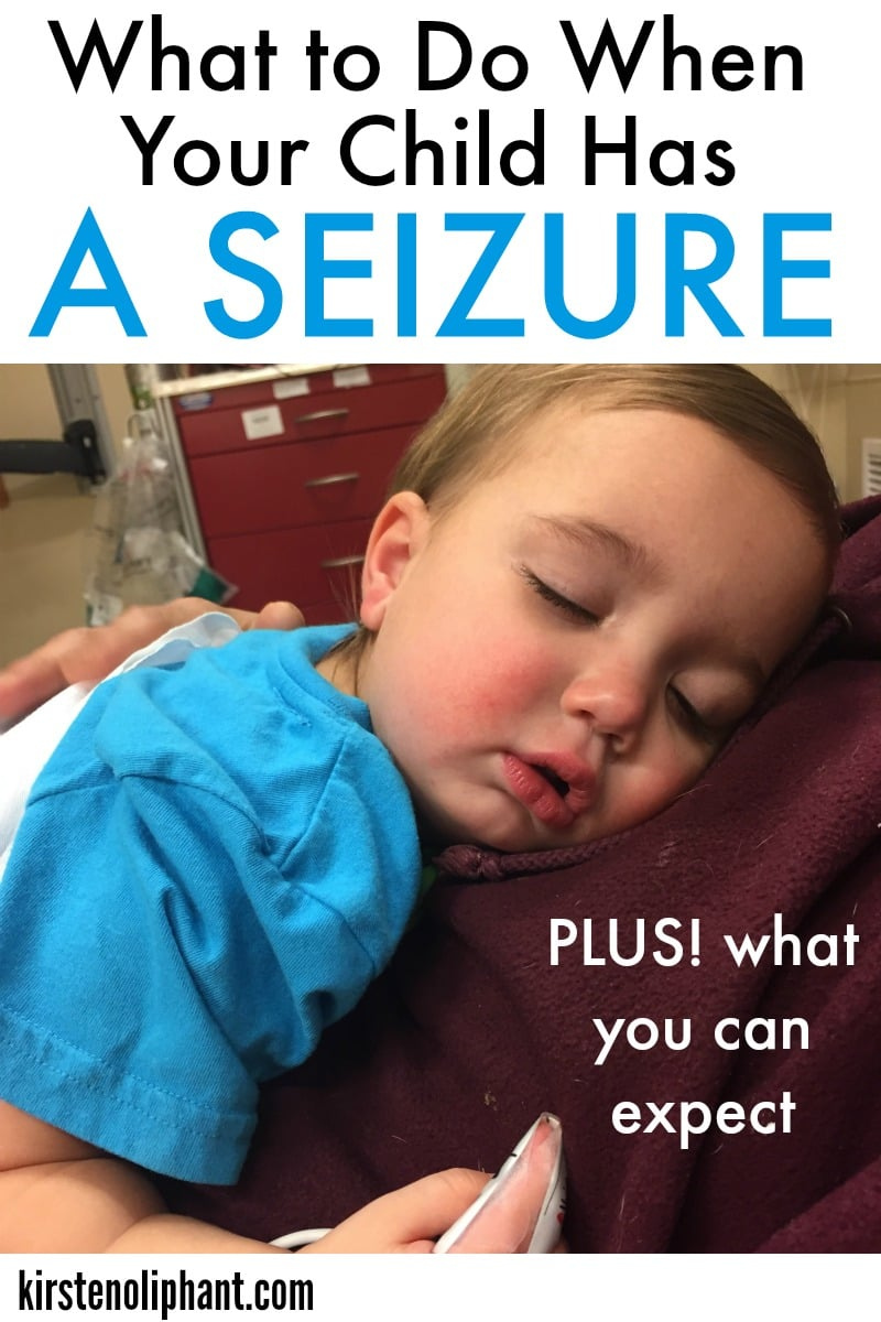 What I wish I knew before my child had a febrile seizure!