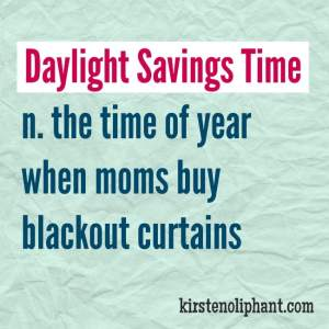 You Suck, Daylight Savings Time.