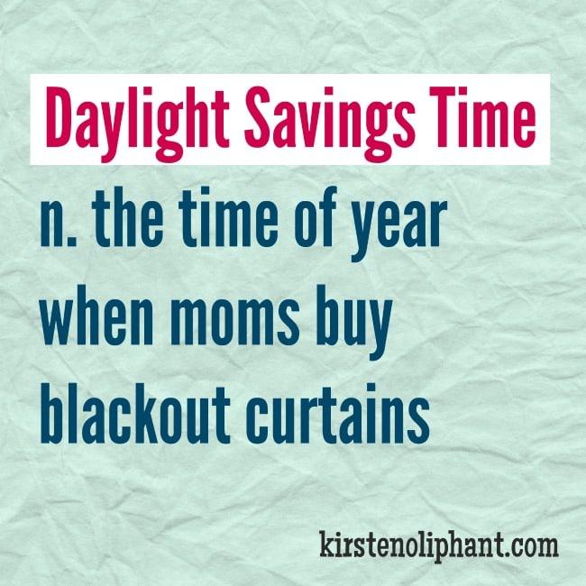You Suck, Daylight Savings Time.