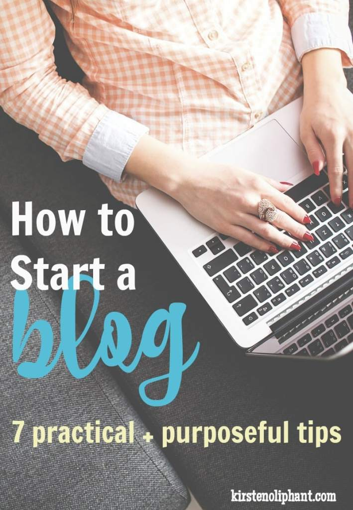 Before you dive in, read these 7 tips on how to start a blog. (Many of them still apply if you already HAVE a blog!)