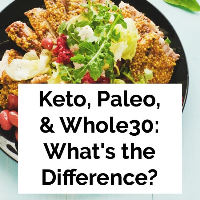 Keto, Paleo, and Whole30: What's the Difference?