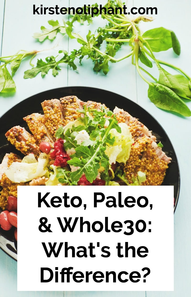 Do you know the difference between keto, primal, and whole30? This post will help talk you through.