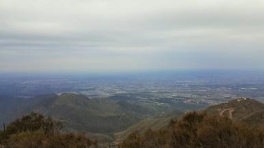Mendoza from the top of Cerro Arco