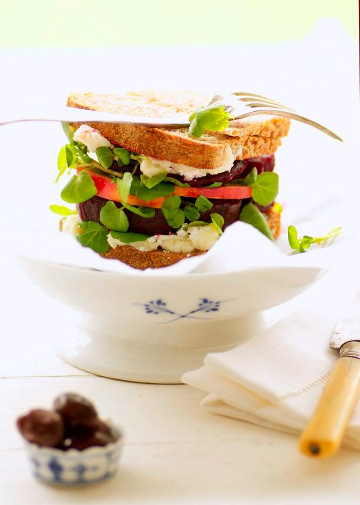sandwich m rødbede
