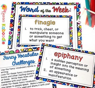 Word Collector Fancy Words
