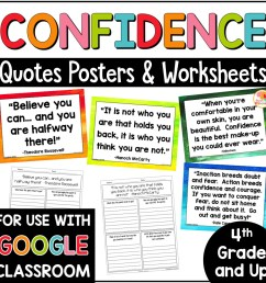 Confidence Quotes Posters and Printables for Growth Mindset [ 1000 x 1000 Pixel ]