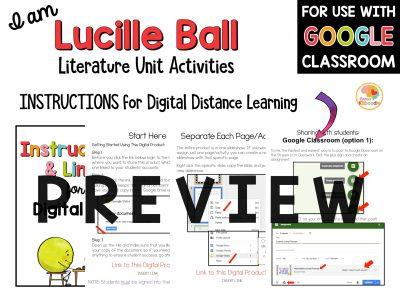 i-am-lucille-ball-literature-unit