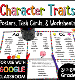 Character Traits Lists [ 1000 x 1000 Pixel ]