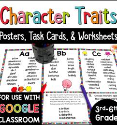 Character Traits Lists [ 1000 x 1000 Pixel ]