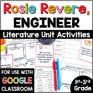 Rosie Revere Engineer Activities COVER