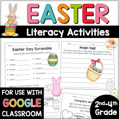 Easter Literacy Activities COVER