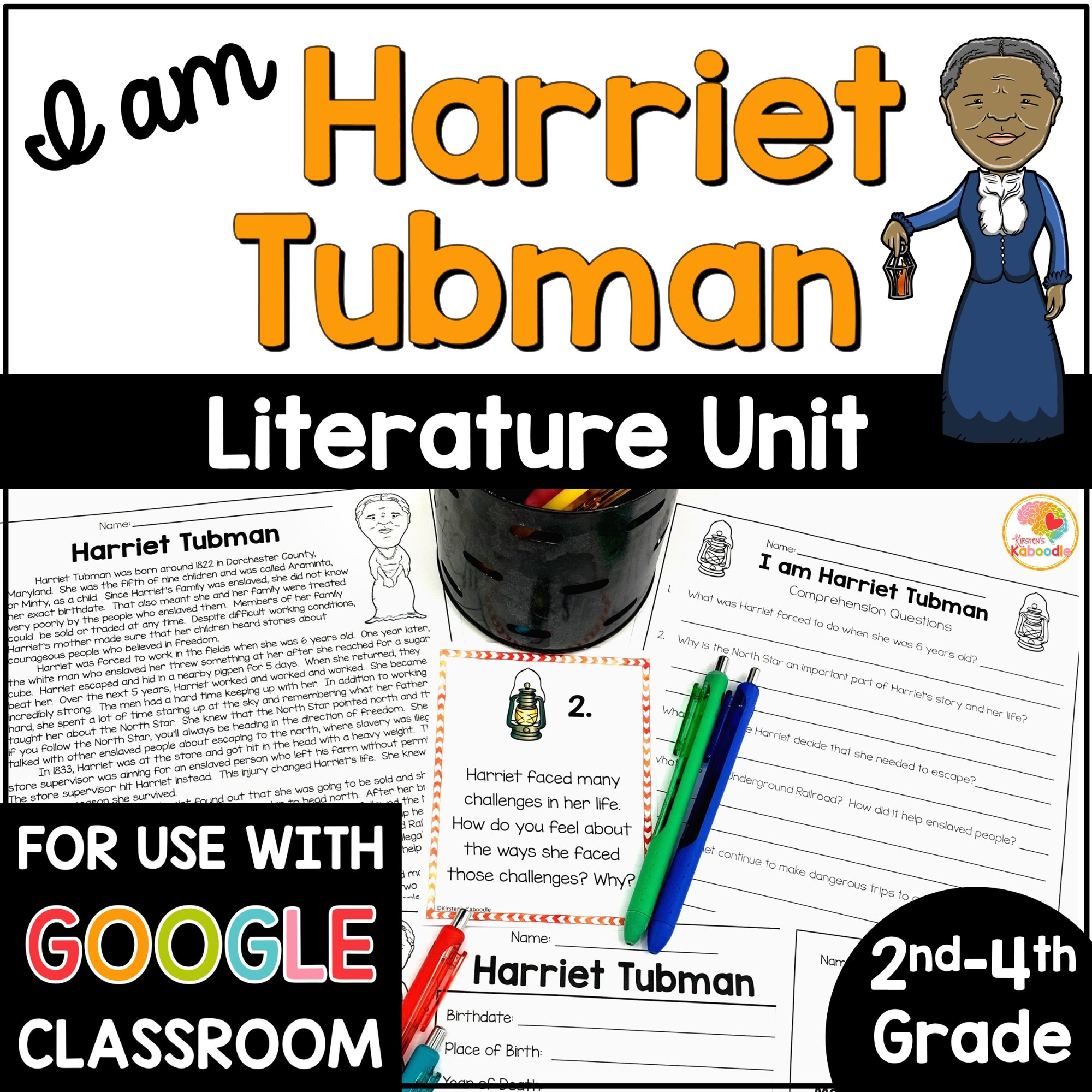 hight resolution of I am Harriet Tubman by Brad Meltzer