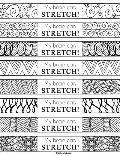 Growth Mindset Brag Bracelets
