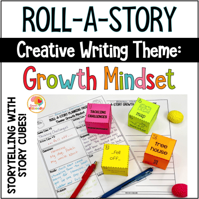 Roll-a-Story: Growth Mindset Creative Writing Activity