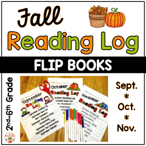 Reading Logs - Fall Flip Books