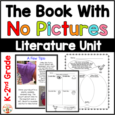 The Book With No Pictures Activities