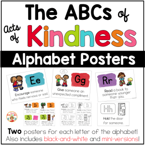 Kindness Posters - The ABCs of Kindness