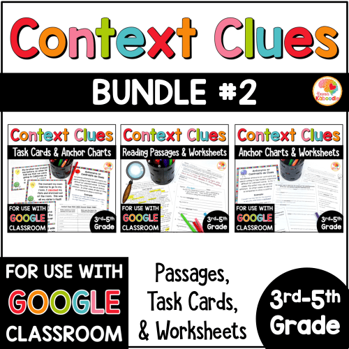 small resolution of Context Clues Activities for 3rd