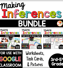 Making Inferences Task Cards [ 1000 x 1000 Pixel ]