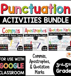 Punctuation Practice Activities BUNDLE - Commas [ 1000 x 1000 Pixel ]