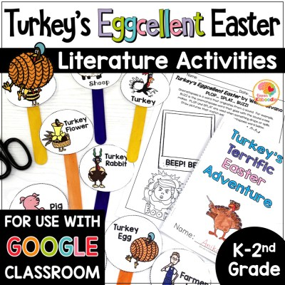 Turkey's Eggcellent Easter Activities COVER