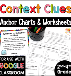 Context Clues Worksheets for 2nd [ 1000 x 1000 Pixel ]